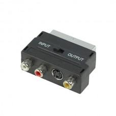 Adaptor scart - 3RCA + SVHS