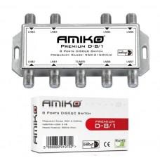 Comutator DiseqC 8/1 Amiko (Intern)