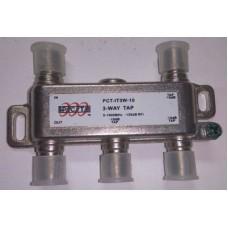 Spliter 3 cai cu atenuare -10dB PCT