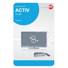 Cartela de reincarcare Focussat - Activ- 3 LUNI