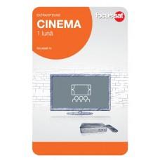 Cartela de reincarcare Focussat O1- Cinema - 1 LUNA