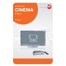 Cartela de reincarcare Focussat O3- Cinema - 3 LUNI