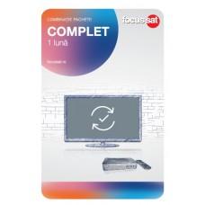 Cartele de reincarcare Focussat C1- Complet - 1 LUNA