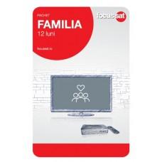 Cartela de reincarcare Focussat R12- Familia - 12 LUNI