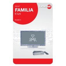 Cartela de reincarcare Focussat R6- Familia - 6 LUNI