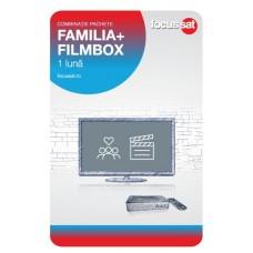 Cartela de reincarcare Focussat - Familia si Filmbox 1 luna