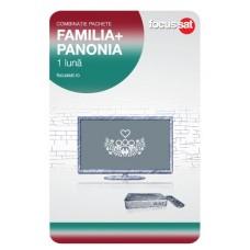Cartela de reincarcare Focussat - Familia+Panonia -1luna