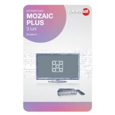 Cartela de reincarcare Focussat - Mozaic Plus - 3 LUNI