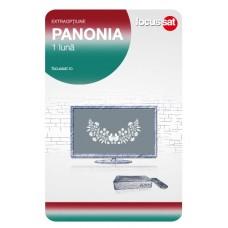 Cartela de reincarcare Focussat M1- Panonia - 1 LUNA