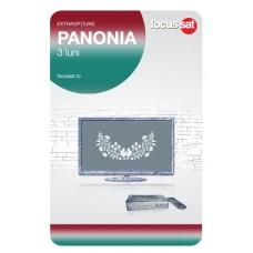 Cartela de reincarcare Focussat M3- Panonia - 3 LUNI
