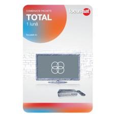Cartela de reincarcare Focussat P1- Total - 1 LUNA