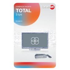 Cartela de reincarcare Focussat - P3- Total - 3 LUNI