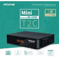 Receptor de Cablu sau Terestru Amiko Mini 4K UHD T2/C