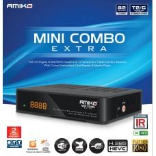 Receptor de Cablu sau Terestru si de Satelit Amiko Mini Combo Extra