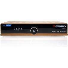 Octagon SF8008 4K UHD E2 DVB-S2X & DVB-C/T2 Gold