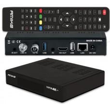 Receptor AMIKO VIPER 4K V30 COMBO DVB-S2X Multistream
